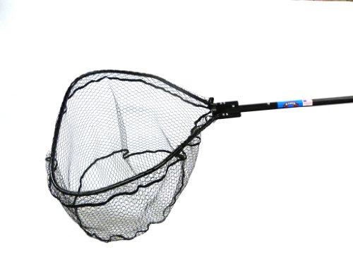Ranger Nets Knotless Flat Bottom Rubber Coated Net...