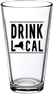 Drink Local Pint Gl - New York