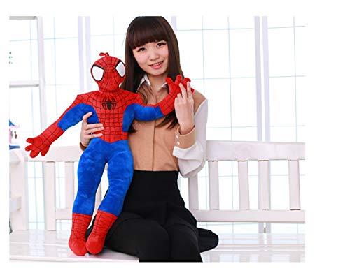 Fuxwlgs Juguete de Peluche 35-70 cm Juguete de Peluche Hombre de araña Muñeca de Juguetes Rellenos de Juguetes para niños (Color : Spider Man, Height : 35cm)