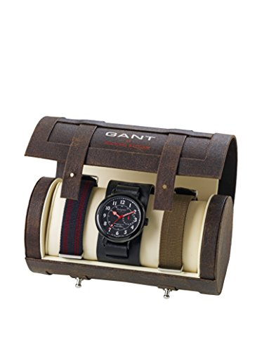 Gant Watches Herren-Armbanduhr XL Michael Bastian Analog Leder W70092