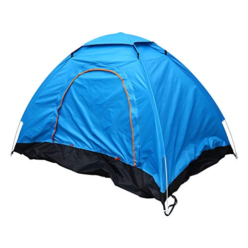 VOSAREA Pop Up Tent Automatic Tent Portable Sport Tent Waterproof Windproof Dome Tent UV Protection Sun Shelter for Beach Travel Camping Hiking (for 1-2 People)