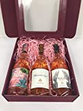 Pink Rosé Wine Gift box - Whispering Angel, Rock Angel and The Palm rose wine
