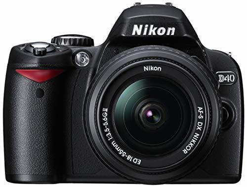 Nikon D40 - Cámara Réflex Digital 6.1 MP (Objetivo w/ 18-55mm)