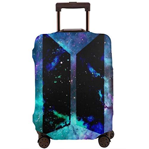 Funda de equipaje de viaje estampada de color GalaxyPrint, funda elástica para maleta de 45 a 81 cm