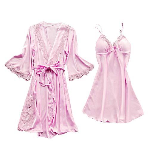 Zweiteilige Nachthemd Schlafanzüge Negligee Juliyues Sexy Erotik Dessous Nachtwäsche Damen Mode Dessous Unterwäsche Babydoll Nachtwäsche Kleid Schlafanzüge Lace Pyjamas Home Kleidung für Frauen