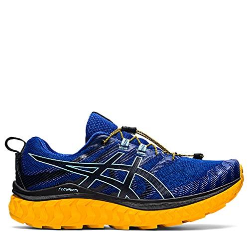 ASICS Trabuco MAX, Zapatillas de Correr Hombre, Monaco Blue Black, 43.5 EU
