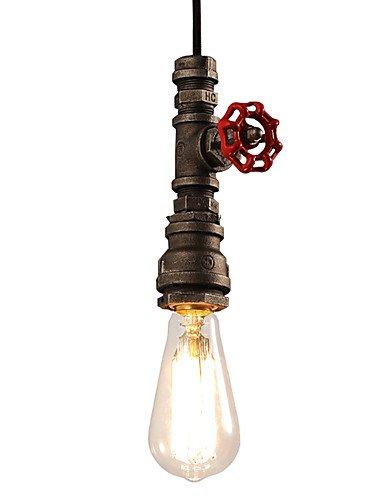 XY&XH lustre, Lustre industriel de style loft créative personnalité rétro tuyaux d'eau luminaires lustre restaurant bar