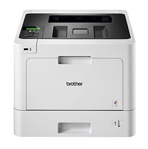 Brother HL-L8260CDW Stampante Laser a Colori, Velocità di Stampa 31 ppm, Rete Cablata, Wi-Fi e Wi-Fi Direct, Stampa Fronte/Retro