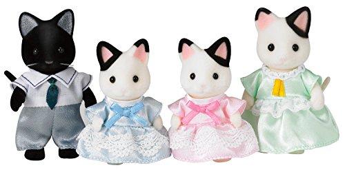 Sylvanian Families-5054131051818 Animales Familia gatos esmoquin (Epoch para Imaginar 5181) , color/modelo surtido