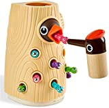 TOP BRIGHT Fine Motor Skills Toddler Toys for 2 Year Old Girls and Boys, Magnetic Matching Game for...