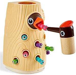 2 JAHRE ALTES SPIEL: Kinder sind bereit zu lernen und zu erkunden. Ihre Fantasie wächst und es macht ihnen Spaß, ihre eigenen lustigen Spielabenteuer mit Spielzeug zu kreieren. Es ist ein gutes Spielzeug und ein Geschenk für die Vorschule, einfach zu...