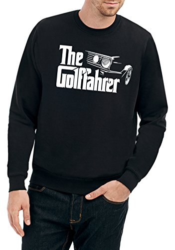 Certified Freak The Golffahrer Sweater Black XL