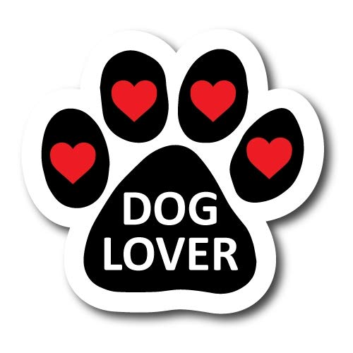 Magnet Me Up Dog Lover Pawprint Car Magnet Paw Print Auto Truck Decal Magnet