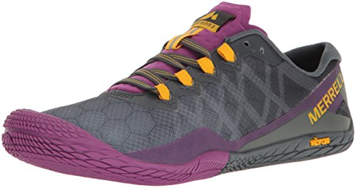Merrell Women's Vapor Glove 3 Trail Runner, Turbulence, 8 M US