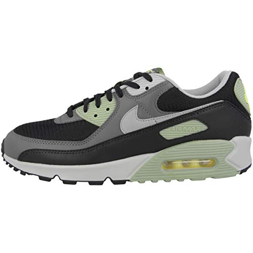 Nike AIR Max 90, Chaussure de Course Homme, Oil Green Lt Smoke Grey Black Iron Grey Lt Zitron, 41 EU
