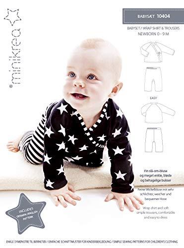 MAGAM-Stoffe Babyset Schnittmuster Neugeborene und Babys inkl. Aufnäher Enno