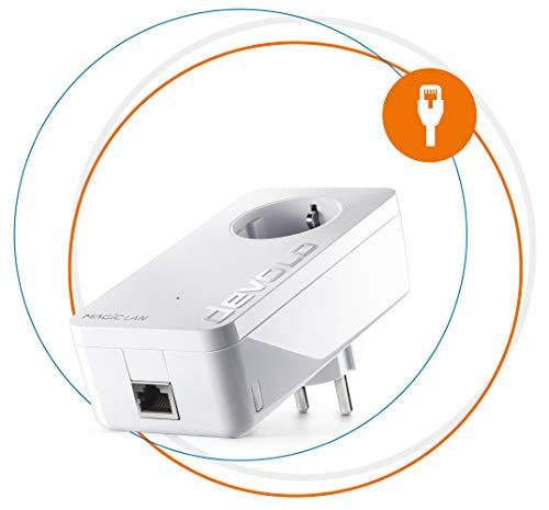 devolo Magic 1 – 1200 LAN Single Adapter: Adaptador de ampliación Powerline...