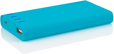 Incipio offGRID Power Bank, Charge USB Supported Devices [4000 mAh] Portable Backup Battery Pack - Cyan