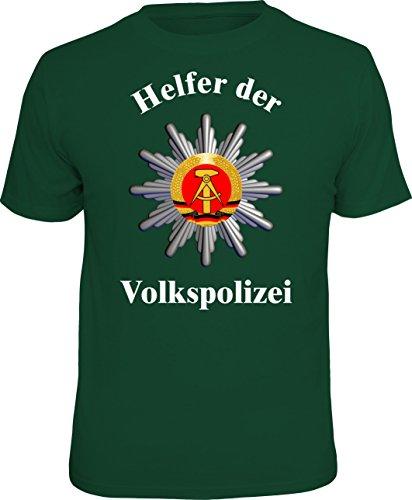 RAHMENLOS Original T-Shirt DDR Nostalgie: Helfer der Volkspolizei Größe L, Nr.4302