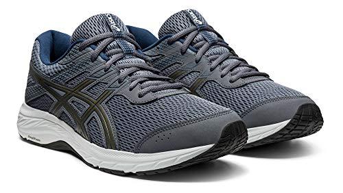 ASICS Men's, Gel-Contend 6 Running Shoe Grey Blue 11.5 D