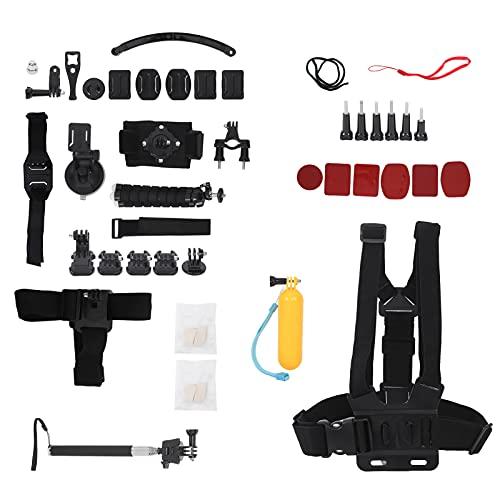 T opiky Kit di Accessori per Action Cam 50 in 1 con Vari Strumenti per Videocamera, Compatibile con Hero9/Hero8/Hero7, per DJI Osmo Action, per SJCAM