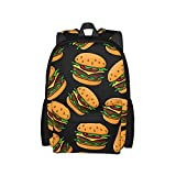Backpacks Cheeseburger And Roast Bee Large Daypack Sport Boys Back Pack Sports...