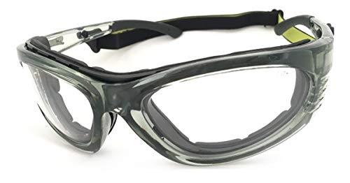 Óculos de Segurança - Turbine com Lente Incolor-STEEL PRO-656358