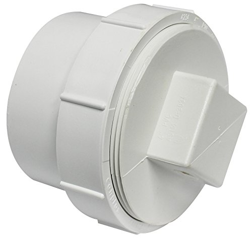 Canplas 414274BC PVC Sew 4 Cleanout with Plug