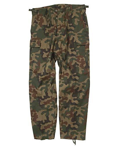 Mil-Tec Us Ranger Hose Typ BDU Armee Hose Männer, Polnisch Tarn, XXL