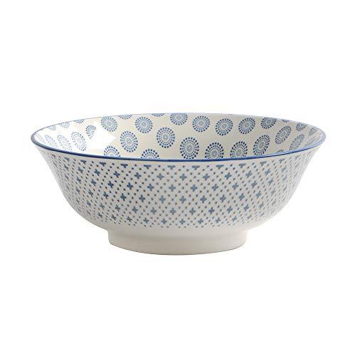 ProCook - Bol à riz Chinois en Porcelaine - Grand - Bleu