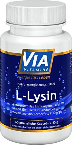 L-Lysin 500mg 60 Kapseln