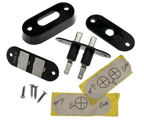 Create Idea Schiebetürkontakte Schiebetür Kontaktschalter für Auto Van Alarm Zentralverriegelung Kompatibel mit VW T3 T4 T5