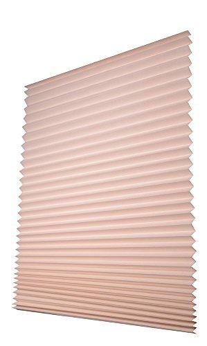 Easy-Fensterfix® – Rollo, Jalousie, Plissee – Sichtschutz aus Papier – ohne Bohren – für Fenster – Natur – bis 121 cm