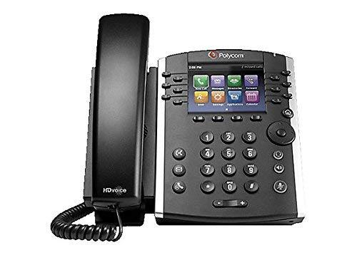 POLYCOM 2200-46162-025 - Polycom VVX 410 IP Phone - Cable - Desktop - 12 x Total Line - V (Certified Refurbished)
