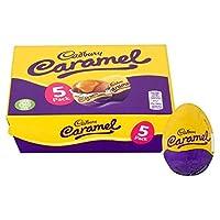 Cadbury 5xキャラメルチョコレートイースターエッグ 5x Caramel Eggs Box Chocolate Easter Eggs