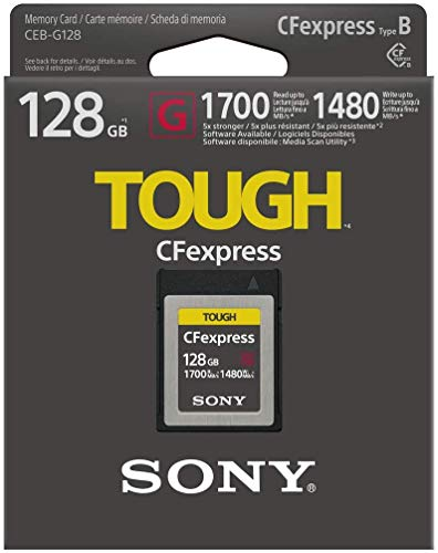 Sony Cfexpress Tough Speicherkarte, 128 GB