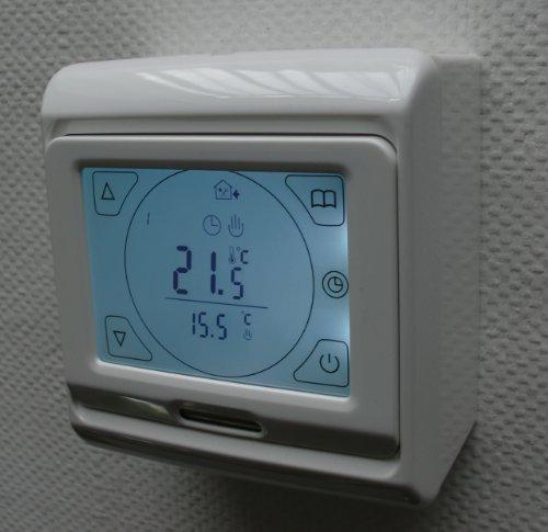 SM-PC®, Raumthermostat Thermostat programmierbar mit Touchscreen AUFPUTZ #ap695