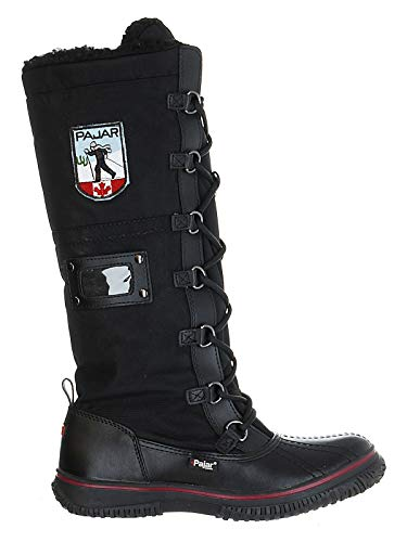 Pajar Grip Zip Boots - Women's Black/Black 38