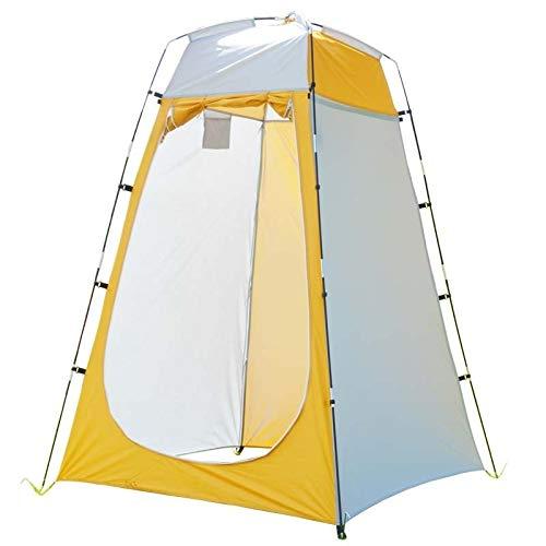 weichuang Außenzelt Fully Tent Automatische Öffnen Außendusche Baden Angeln Schwimmen Toilette Einfacher Wechsel Kleidung Vorhang Camping Stahldraht Zelt (Color : Need to Build 2)
