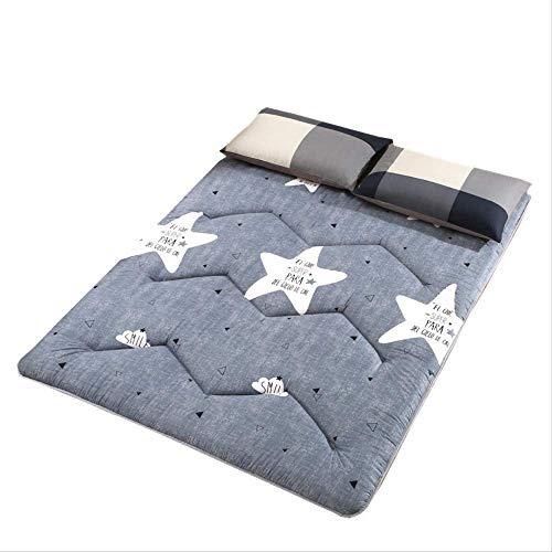 Saddpa Tatami Vloermat, dun, opvouwbaar futon Tatami matras, zacht, dik Japanse matras voor studentenhuizen 100 * 200