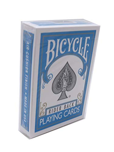 Murphy's Magic Bicycle Poker Size Turquoise Back Playing Cards, 1 Joker Included
