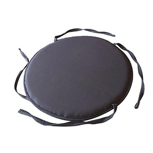 TreeLeaff Round Seat Cushion to Tie on Furniture, Chair, Circle Cushion, Home Supplies