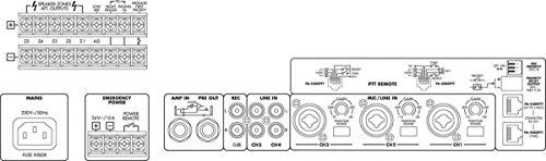 Monacor PA-1240 PA Mixing Verstärker