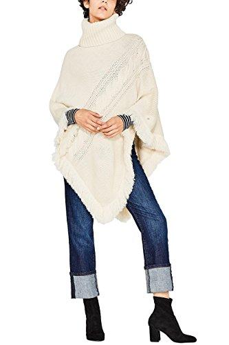 ESPRIT Accessoires Damen 097EA1Q015 Schal, Beige (Cream Beige 295), One Size