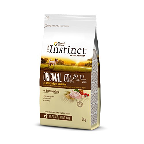 True Instinct Original con Pollo Fresco e Riso Integrale - Mini - Adulto 2 kg - 2000 Gr
