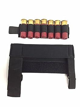 Hi-Tech Custom Concepts Kel-Tec KSG Shotgun Neoprene Cheek Rest/Arm Guard Strap-on with Shell Card Holder Combo USA.