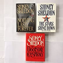 Sidney Sheldon (3 Book Set) Nothing Lasts Forever, The Stars Shine Down, The Doomsday Conspiracy by Sidney Sheldon