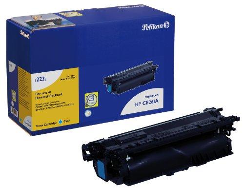 Pelikan Toner ersetzt HP CE261A (passend für Drucker HP CLJ CP 4025, 4525A)