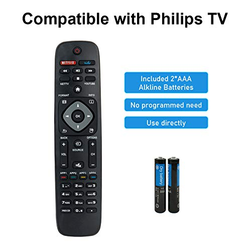 OEM Philips Power Cord Cable USA ONLY Originally Shipped With 55PFL5602 55PFL5703 55PFL5602//F7 55PFL5703//F7 55PFL5602//F7A