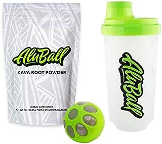 Aluball Kava Maker Starter Kit - Includes 5 Servings of Premium kava Root Powder